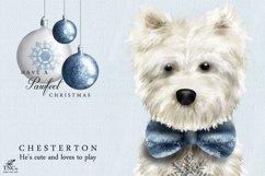 Westie Dog Illustration Set + Bonus Patterns & Alphabet Product Image 2