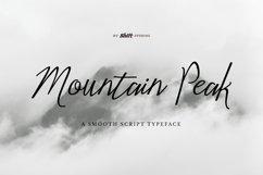 Mountain Peak Typeface Product Image 1