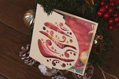 Christmas Ball Ornament Invitation cutting file Product Image 1