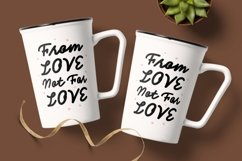 The Frosan Display Font Product Image 2