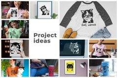 183 Cat Portraits Illustrataions SVG, PNG, eps, ai, pdf Product Image 2