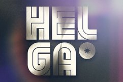 Helga - Display Font Product Image 3