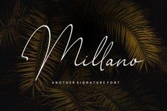 Millano // Signature Font Product Image 1