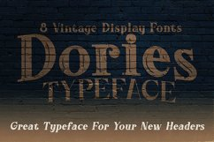 Dories - Display Font Product Image 5