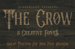The Crow - Vintage Style Font Product Image 4