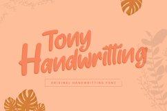 Tony Handwritting Font Product Image 1