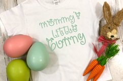 Snuggle Bunny Font Plus Easter Monogram Font and SVG Product Image 6