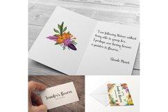 Jennifer's Flowers Script Product Image 3