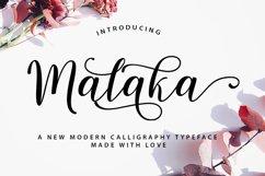 Malaka Script Product Image 1