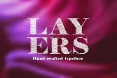 Layers font Product Image 1