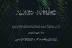 Aliseo Font Family - Sans Serif Product Image 4