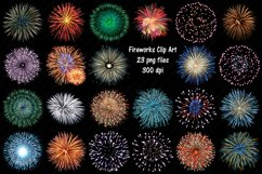 Fireworks Clip Art, Firecrackers, 4th of July Product Image 1