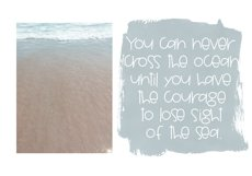 Seashore - A Fun Handwritten Font Product Image 5