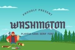 Washington - Playful Sans Serif Font Product Image 1