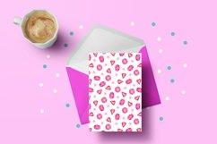 Valentine Patterns   Valentines Digital Papers Bundle Product Image 2
