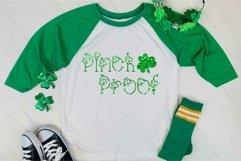 Lucky You Hand Lettered Shamrock Irish Font Product Image 5