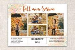 Fall Mini Session Template | Autumn Mini Session Template Product Image 2