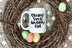 Web Font Bunny Kisses - A Cute Hand-Lettered Font Product Image 4