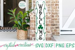 St. Patrick's Day Porch Sign 10x36 Bundle SVG, DXF, PNG, EPS Product Image 5