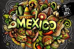 MEXICO Cartoon Doodle Illustration Product Image 3
