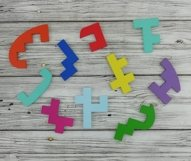 Educational jigsaw puzzle for children, Puzzle svg file Product Image 4