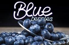 Blueberries - A Menu Font Product Image 1