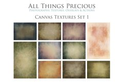 10 Fine Art Textures CANVAS - SET 1 Product Image 1