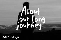 Cerita Senja - Quotes Font Product Image 3