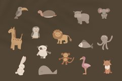 children's clipart with animals - animals in vector-fish svg Product Image 2