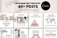 Engagement Instagram Post Templates, Podcast, Course Creator Product Image 4