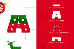 Ogra Clause Layered Christmas Font Product Image 2