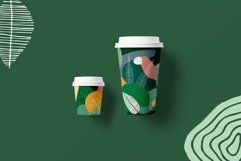 Seasonarium. Abstract botanical pattern and graphic set. Product Image 4