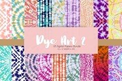 74 Tie Dye Art Digital Papers Bundle Product Image 2