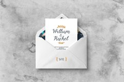 Floral Wedding Invitation Suite Product Image 2