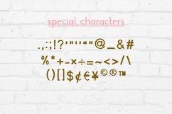 Fall Script Bullet Journal Font | Autumn Planner Scrapbook Product Image 5