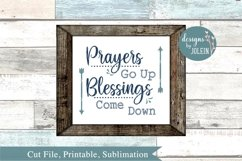 Prayers Go Up SVG, png, eps, sublimation, printable Product Image 3