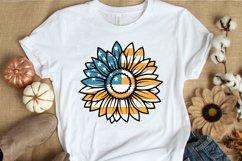 4th of July SVG PNG DXF EPS Patriotic Sunflowers SVG Bundle Product Image 3