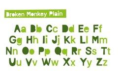 Broken Monkey - playful font Product Image 3