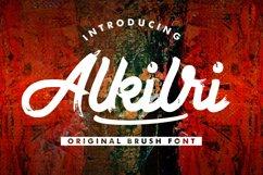 Alkilri | Brush Script Font Product Image 1