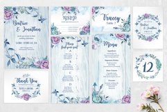 Wedding invitation - BeachyBoho Product Image 3