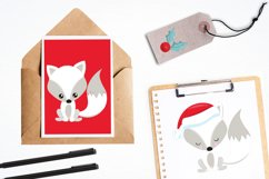 Winterland Fox graphics and illustrations Product Image 4