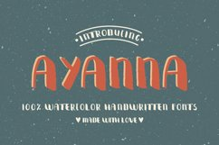 Ayanna Handwritten Font Product Image 2