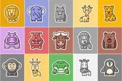 15 cute animals set clipart Product Image 2