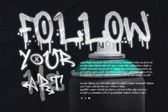 Web Font - Deardorf - Handdrawn Graffitti Font Product Image 4