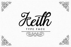 Keith Typeface Product Image 1