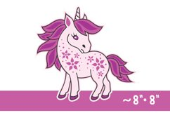 3D Layered Unicorn for Kids. Cut files Product Image 3