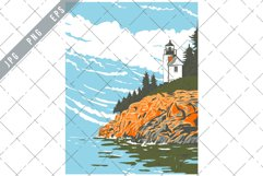 Mount Desert Island in Hancock County Off the Coast of Maine Product Image 1