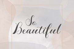 Monalisa // Script Calligraphy Product Image 4