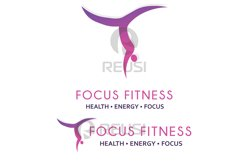 Focus Fitness Logo Template Product Image 2