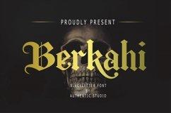 Berkahi Blackletter Font Product Image 1